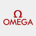 logotipo rojo relojes omega watches
