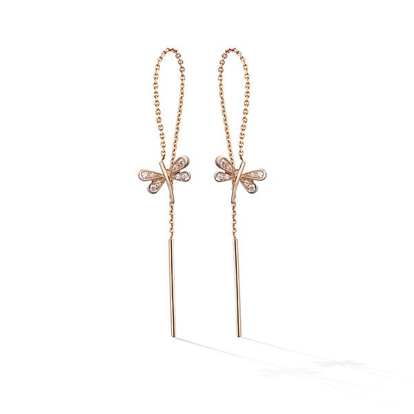 PENDIENTES GOLD & ROSES BALANCE TOMBO