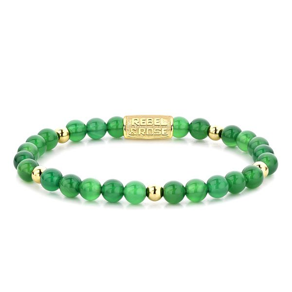 Pulsera Rebel & Rose Green Harmony