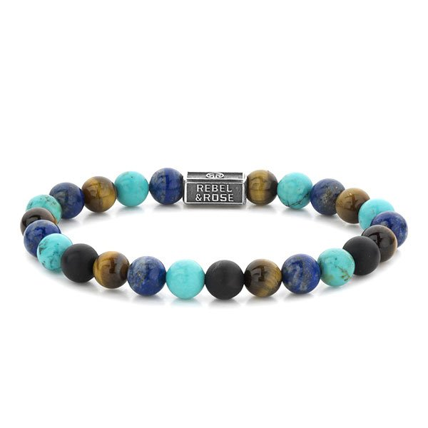 Pulsera Rebel & Rose Mix Turquoise 925