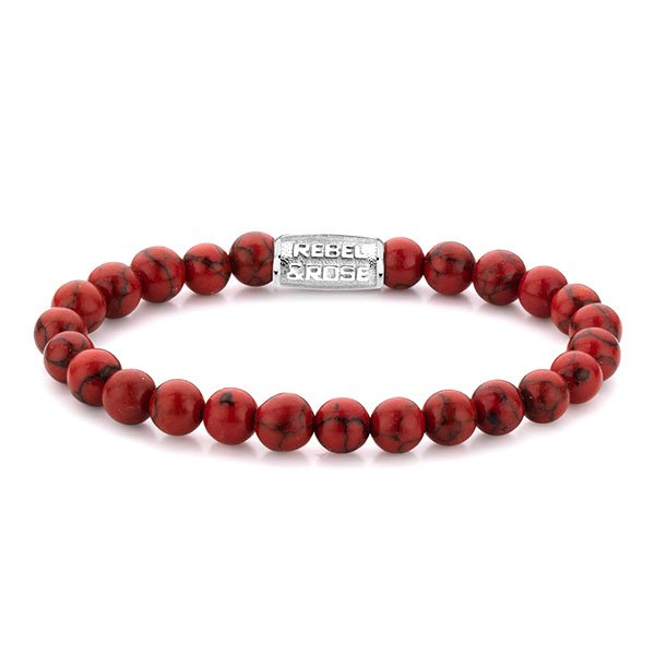 Pulsera Rebel & Rose Red Delight