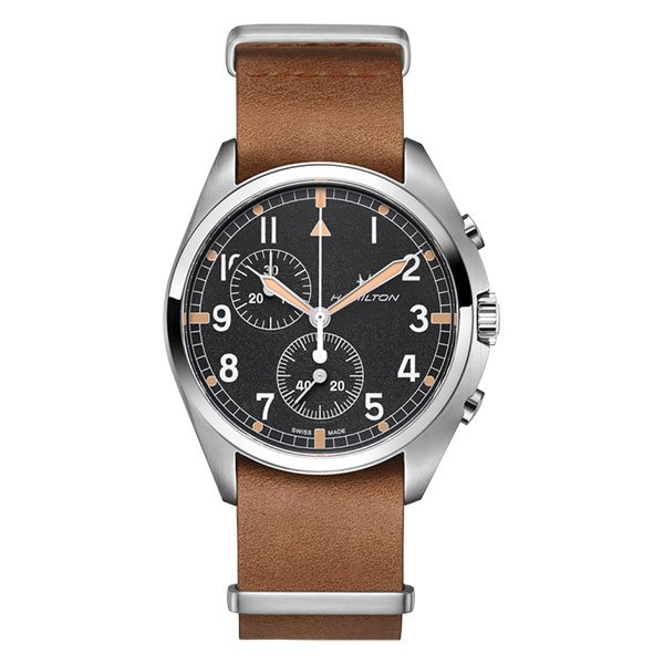 Reloj Hamilton Khaki Aviation Pilot Pioneer Chrono Quartz