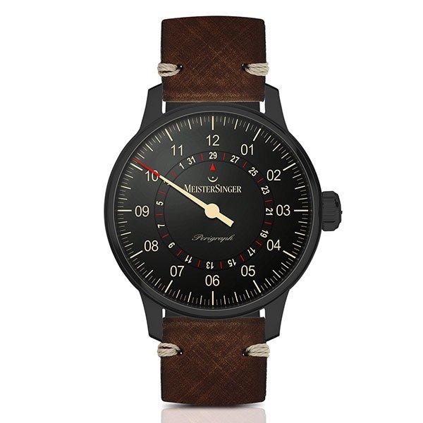 Reloj Meistersinger Perigraph Black Line