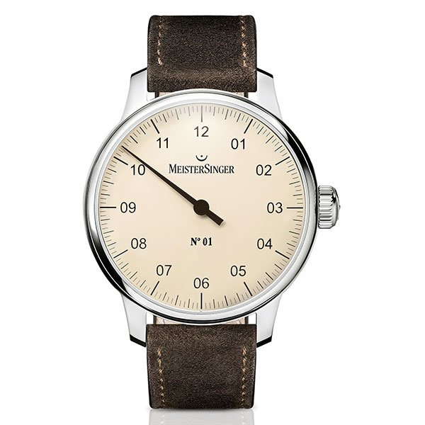 Reloj Meistersinger Nº01 Ivory