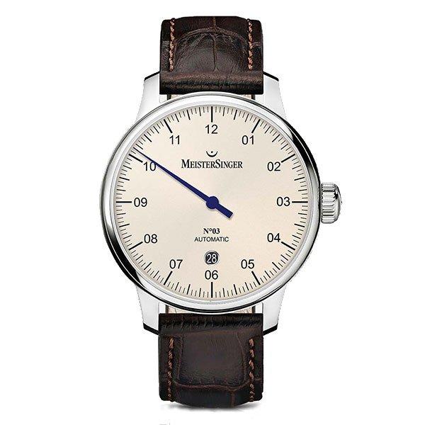 Reloj Meistersinger Nº03 40mm Ivory