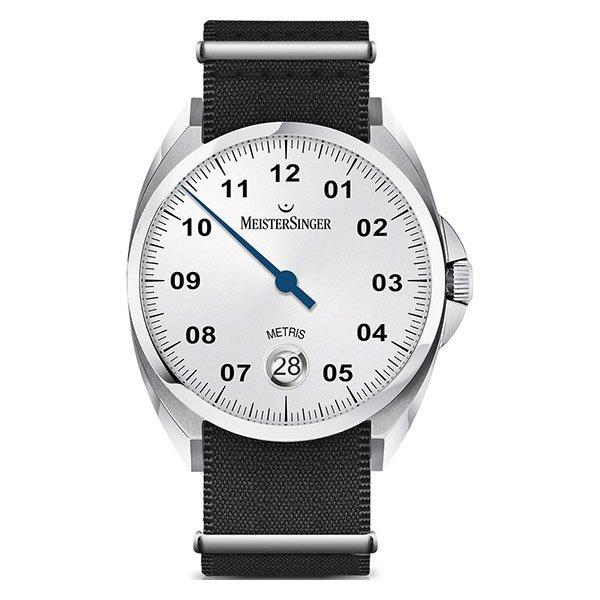Reloj Meistersinger Metris Opaline-Silver