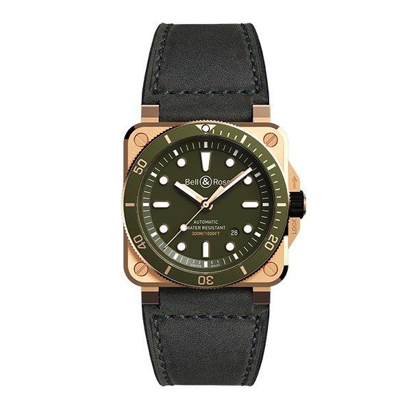 Reloj Bell & Ross BR 03-92 Diver Green Bronze