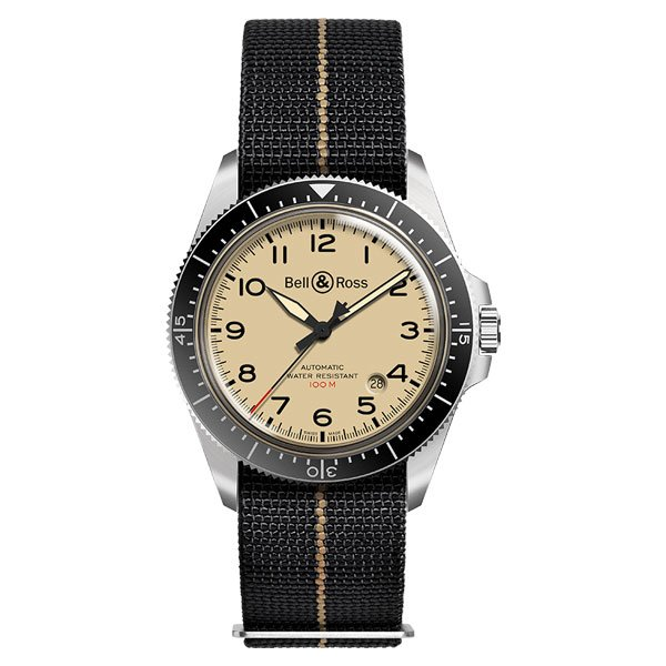 Reloj Bell & Ross V2-92 Military Beige