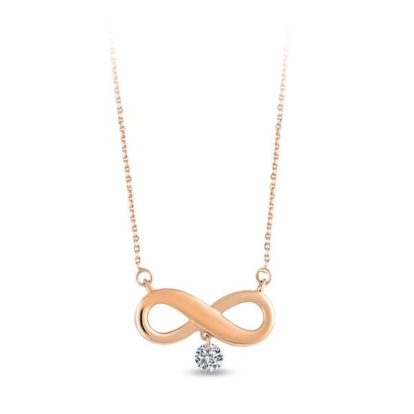 Gargantilla Zen Diamond Infinito