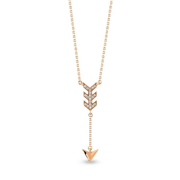 Gargantilla Zen Diamond Flecha
