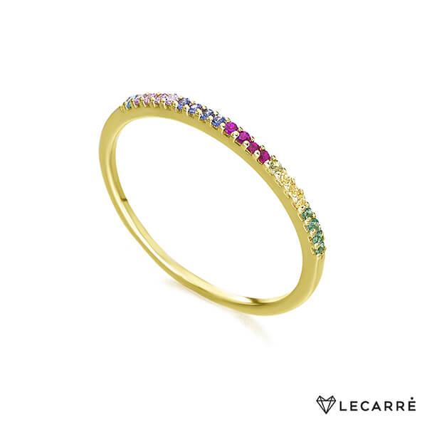 Anillo topacios multicolor - LeCarré