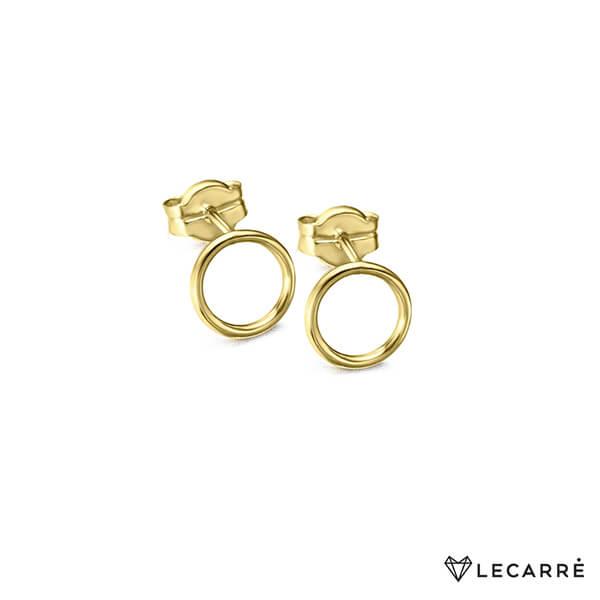Pendientes oro forma circulo - LeCarré