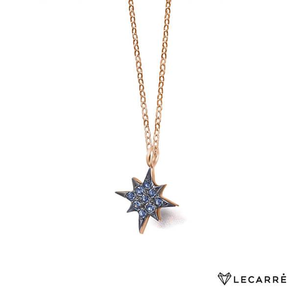 Colgante estrella polar con topacio - LeCarré
